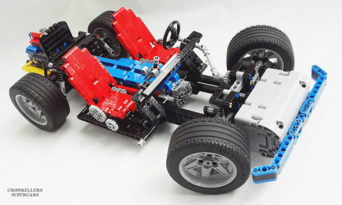 Lego 8860 Car Chassis New Crowkillers
