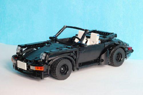 Lego Porsche 911 Convertible
