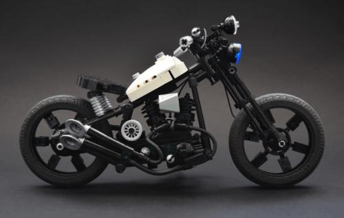 Lego Police Chopper Motorbike