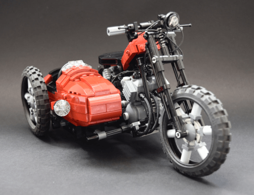 Lego Motorbike and Sidecar