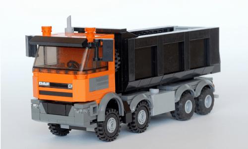 Lego DAF CF Tipper Truck