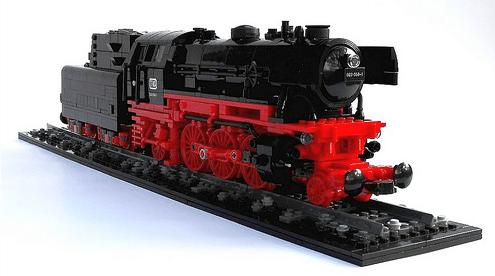 Lego Steam Train