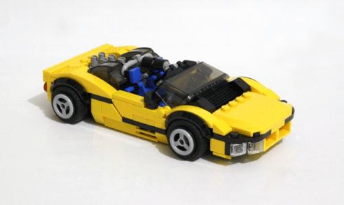Lego Bananarama Concept Car