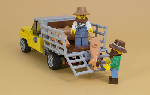 Lego Pick-Up Truck