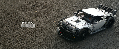Lego Technic RC Drift Car