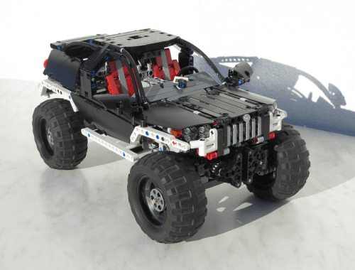 Lego Technic Remote Control 4x4 Crawler