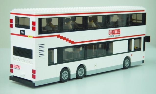 Lego Volvo Hong Kong Bus