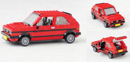 Lego Volkswagen Golf Rabbit GTI