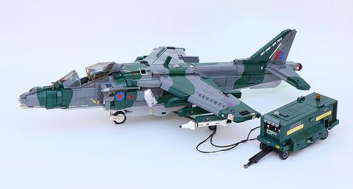 Lego Harrier Jet