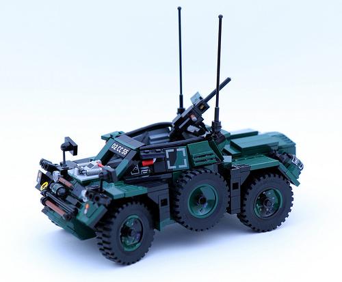 Lego Daimler Ferret Scout Car