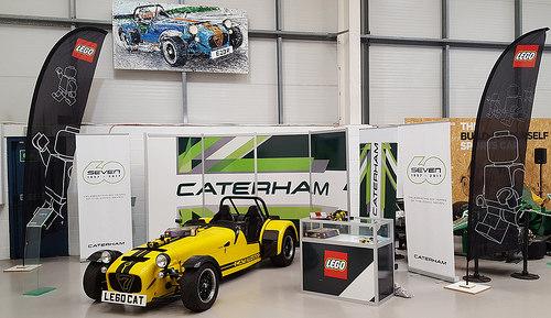 Lego Caterham Seven Set