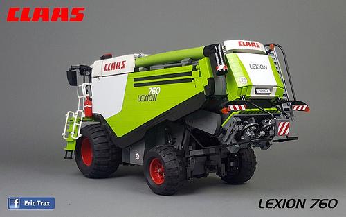 Lego Claas Combine Harvester