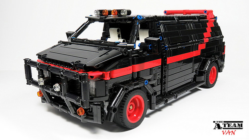 Lego Technic A-Team Van RC