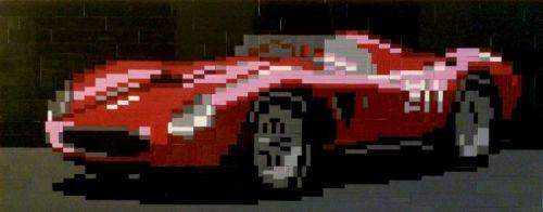Ferrari 625 TRC Spider Lego
