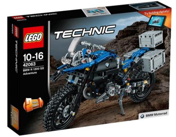 Lego Technic 42063 BMW R 1200 GS Adventure Review