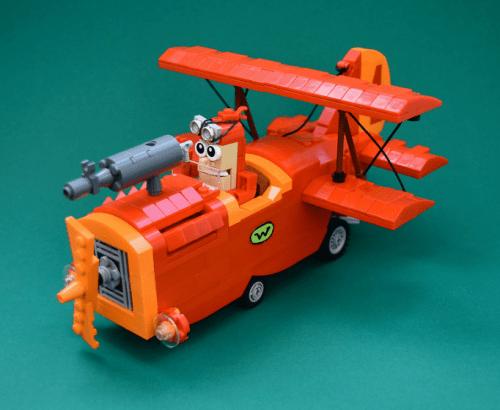 Lego Wacky Races Crimson Haybaler