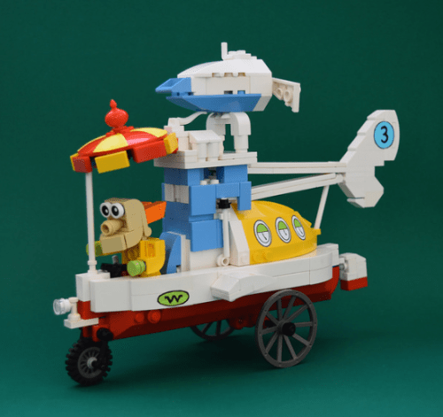 Lego Wacky Races Convert-A-Car