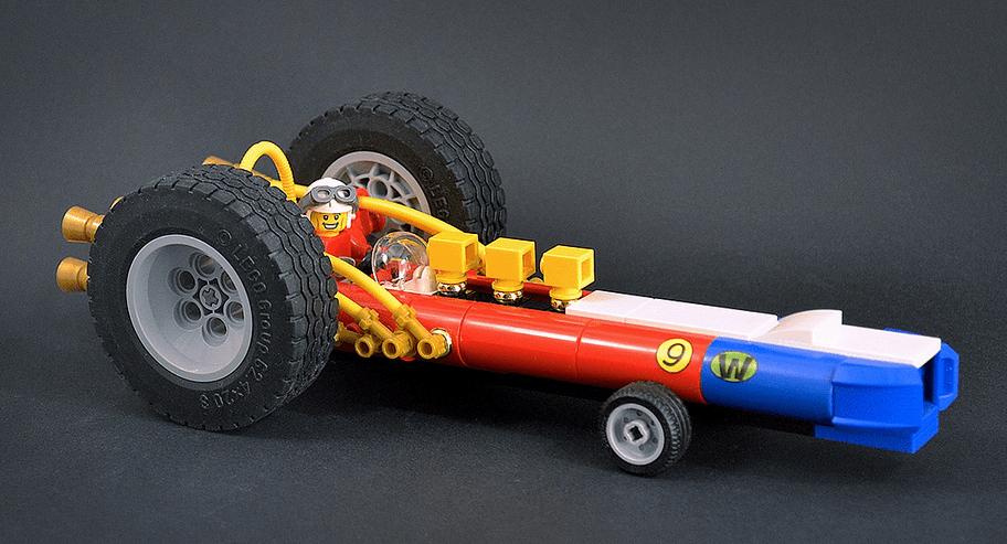 Lego Wacky Races Turbo Terrific