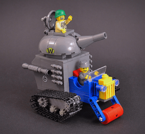 Lego Wacky Races Army Surplus Special
