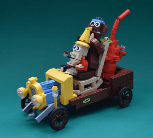 Lego Wacky Races Arkansas Chuggabug