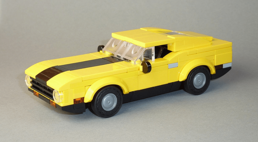 Lego Ford Mustang Mach 1