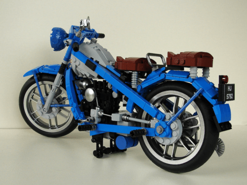 Lego Nimbus Motorbike