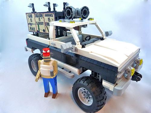 Lego Murica-Mobile Truck