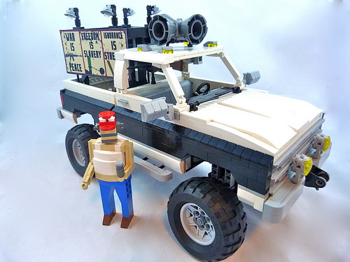Lego Murica-Mobile Truck