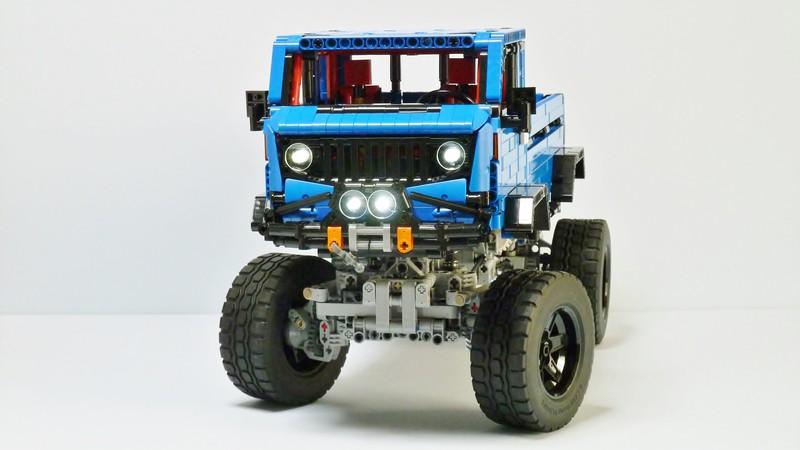 Lego Technic Jeep Remote Control