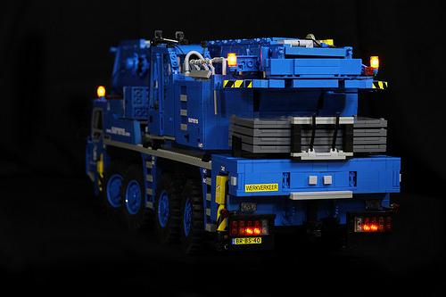 Lego Remote Control Crane