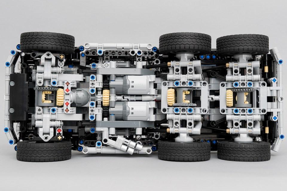 Lego Technic 6x6 RC