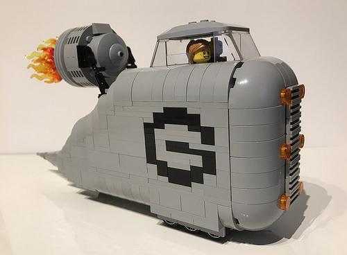 Lego Despicable Me Gru Car