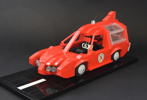 Lego Captain Scarlet Patrol Car