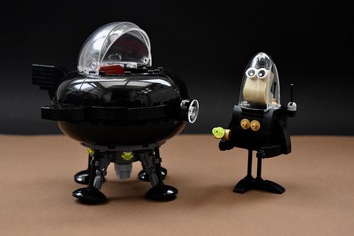Lego Retro Spaceship