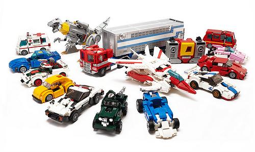 Lego Transformers Autobots