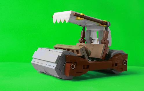 Lego Flintstones Car