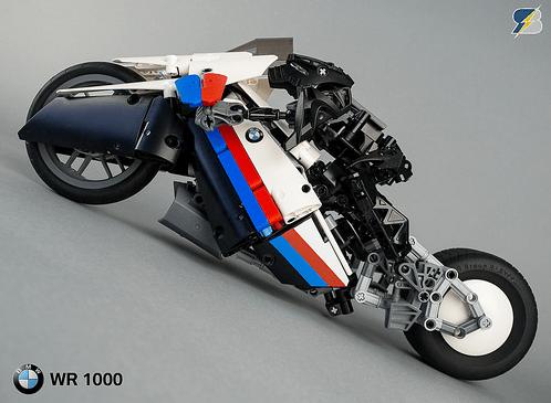 Lego Technic BMW WR 1000 e-Bike