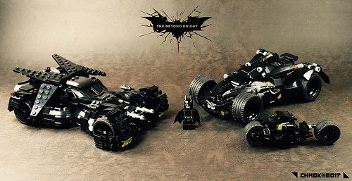 Lego Batmobiles