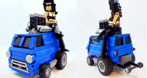 Lego Zinger Van