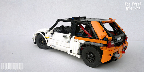 Lego Technic Rally Car