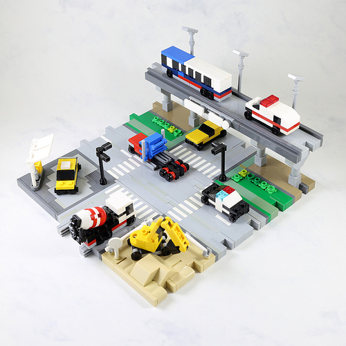 Lego Micro-scale Vehicles