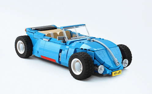 Lego Volkswagen Beetle Hot Rod