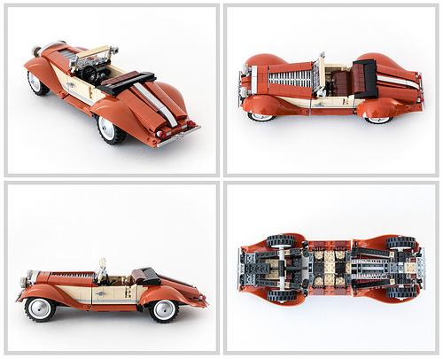 Lego Vintage Roadster