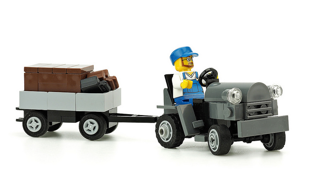 Lego Airport Tractor