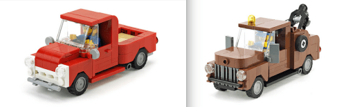 Lego Pick-Up Trucks