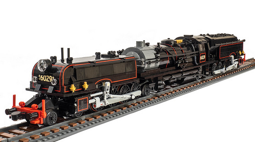 Lego NSW AD60 Steam Locomotive