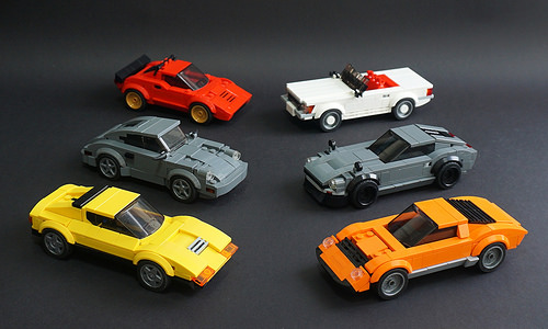 Lego Speed Champions Cars