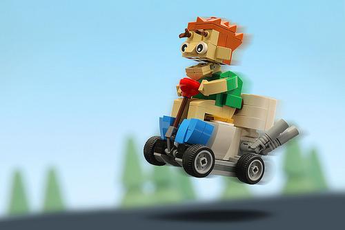 Lego Toilet Go Kart