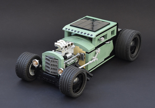 Lego Ford Model A Hot Rod Voodoo Psychosis