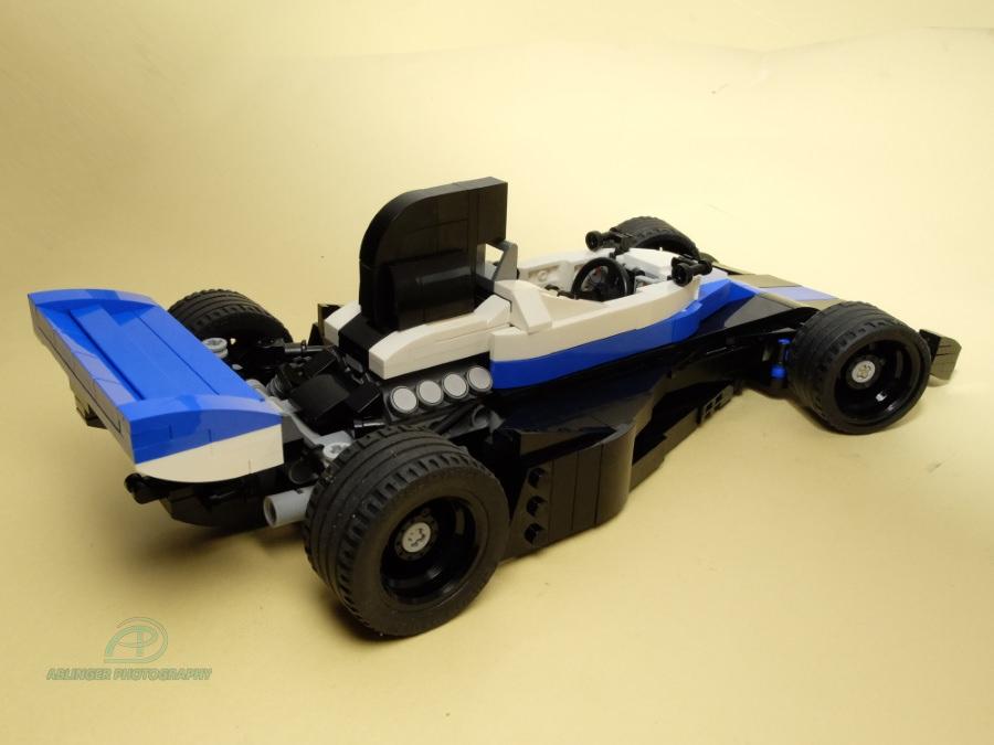 Lego Historic F1 Car 1970s